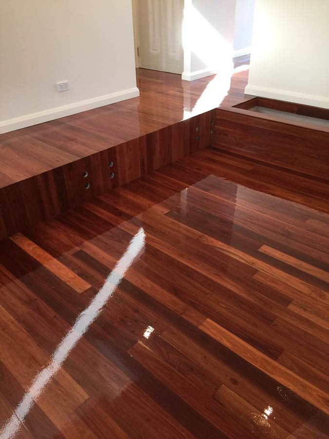 Our works flooring sanding polishing timber intallation for Hardwood floors melbourne